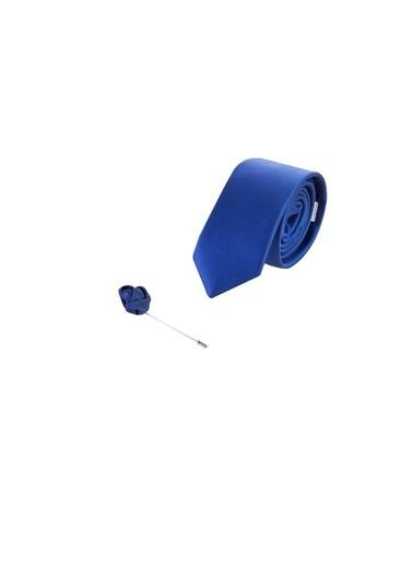 Kiğılı Kravat Mavi